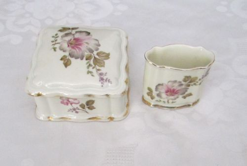 Rosenthal-Chippendale-Selb-Plossberg-Porcelain-Hand-Painted-Makeup-Jewelry-Box