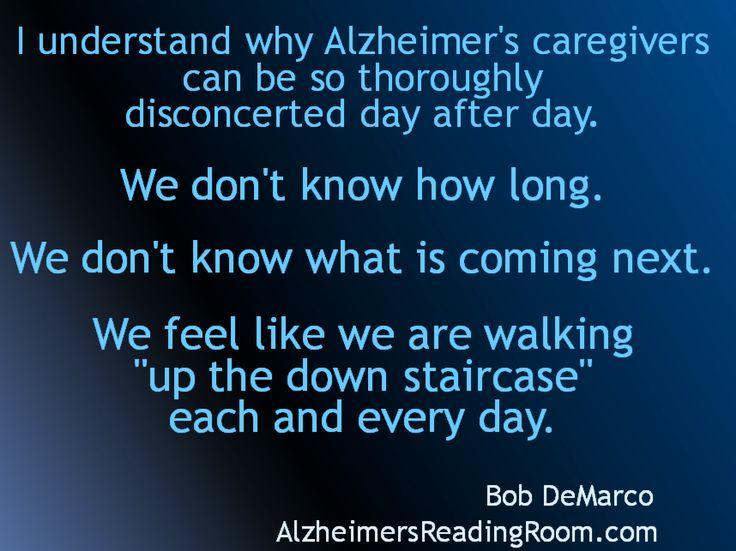 Alzheimers behavior after placement