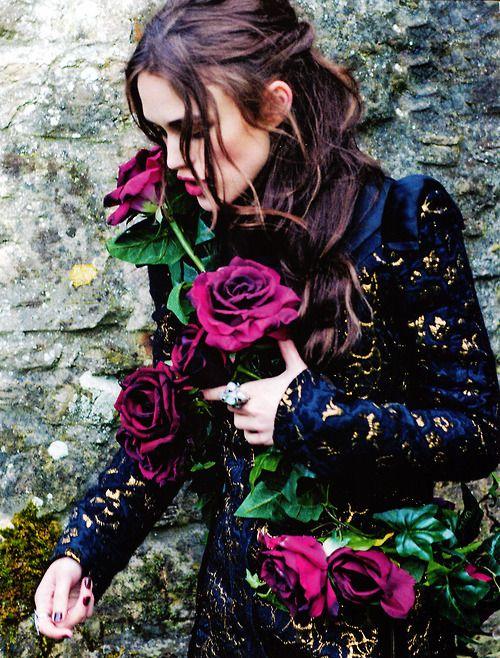 Keira Knightley for Harper's Bazaar UK, Photographed byEllen Von Unwerth