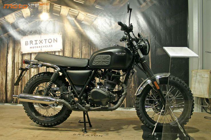Brixton 125cc scrambler
