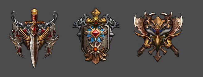 一个游戏的势力徽章