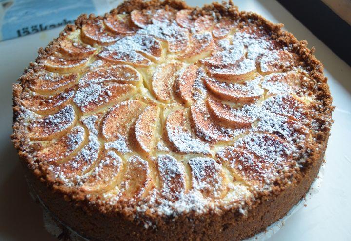 Taivaallinen omenajuustokakku | Rakkaudesta ruoanlaittoon