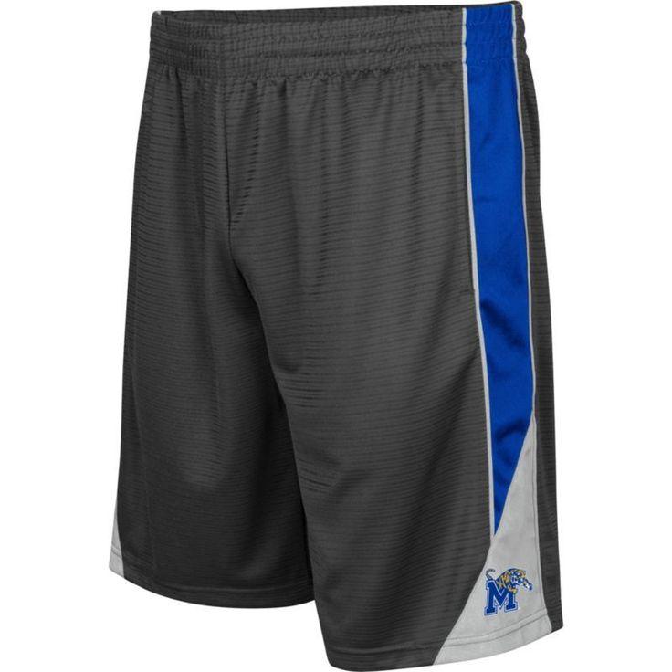 Colosseum Men's Memphis Tigers Grey Turn Over Shorts, Size: Medium, Team