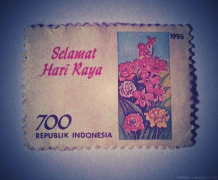 perangko Selamat Hari Raya tahun 1996 (Rp 700)