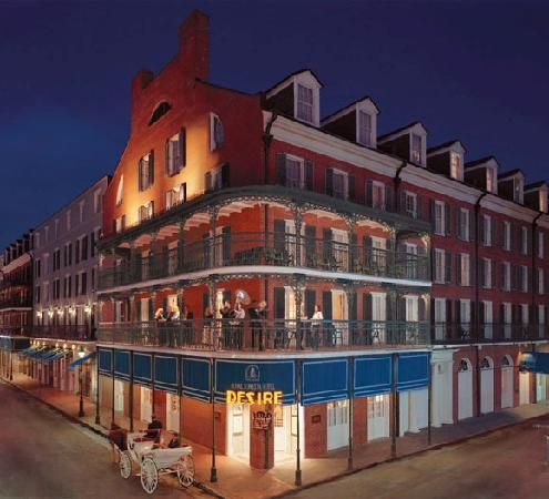Hotel Sonesta, New Orleans.  Not the swankiest place in the world, but what a location... what a city, for that matter! New Hotel Project Designs