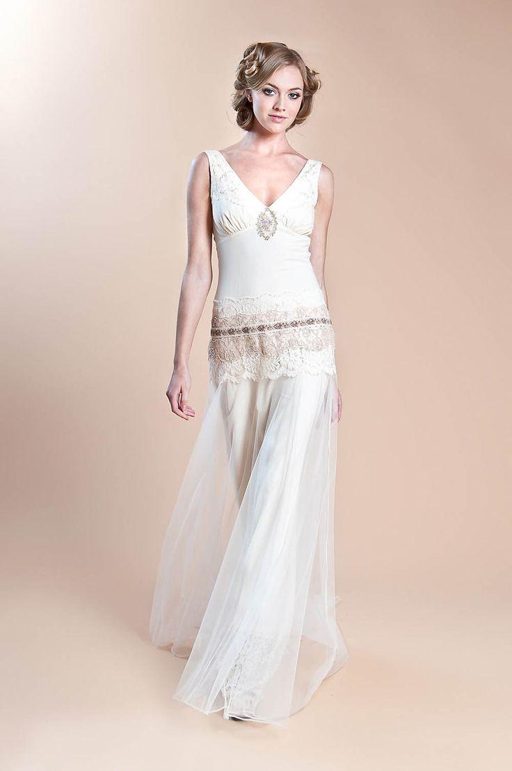 20 best 1920s wedding dresses images on Pinterest | Wedding dressses ...