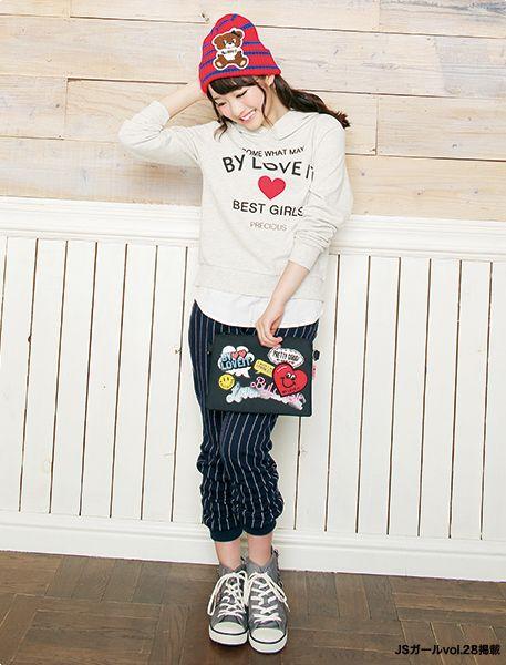 スポーティースタイル! ☆小学生ファッション スタイルの参考コーデ☆