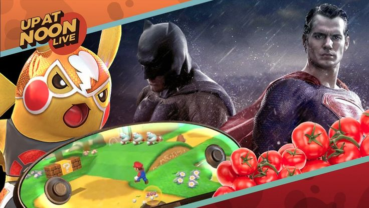 Batman V Superman V Critics Nintendo NX and Pokken Tournament - Up At Noon Dawn of Justice is getting a less-than-super critical reception images have surfaced of a supposed Nintendo NX prototype and Pokken Tournament had one job. One. Job. March 24 2016 at 06:14PM  https://www.youtube.com/user/ScottDogGaming