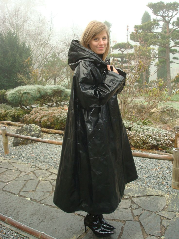 legende cire noir fevrier 2014 1200 1600 pvc macs pinterest hooded raincoat. Black Bedroom Furniture Sets. Home Design Ideas
