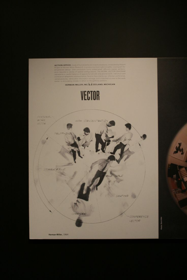 Poster by George Nelson, at the Powerhouse Museum, with a bit of Designer #Humor - this poster is DEFINATELY not Vector!