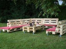 Palettenmöbel Upcycling Gartenmöbel Tisch Holz Vin