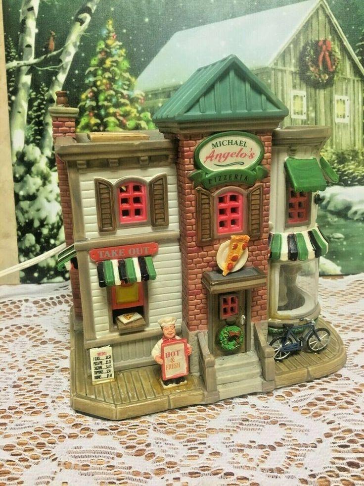LEMAX 2007 Carole Town Christmas Village Michael Angelo's