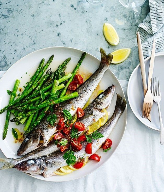 Fast spring recipes :: Gourmet Traveller food photography, food styling