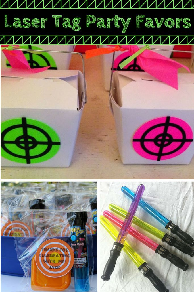 Find the best Laser Tag party favor ideas here! If you or your child is celebrating their birthday party with a Laser Tag party then you will want to check out these party favor ideas. Have a fun Laser Tag party with some fun and unique party favor ideas!  Best Kids Birthday Party Favors!