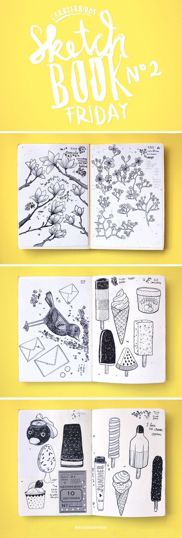 Carrier Bird's Sketchbookfriday No.02