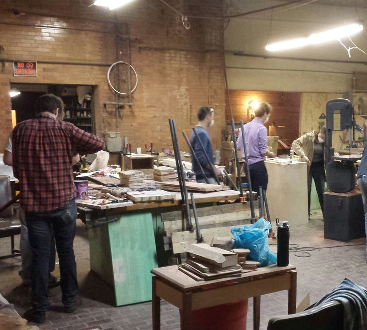 Design/Build : From Inspiration to Object Carpentry Class in Cleveland