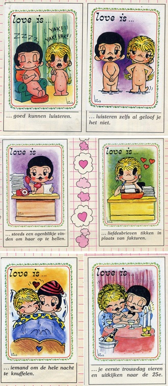 Love is.... Album delle Figurine Panini