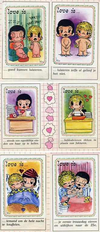 Love is.... Album delle Figurine Panini