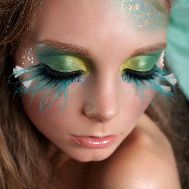 """""""Underwater Love""""  Makeup by Krystal Hayward  Www.nzmakeupgirl.co.nz"""