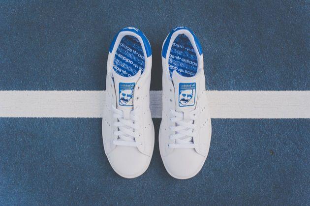 adidas Skateboarding Stan Smith Vulc Bleue | Sneakers.fr