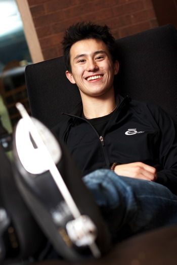 Canadian Figure Skater Patrick Chan.  Hope he makes it to the olympics!