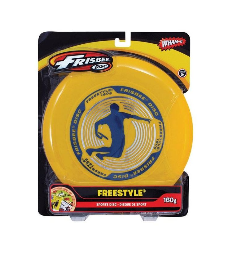 Frisbee 81101 Freestyle Ultimate Frisbee Disc, 160 Grams, Assorted Colors