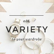 add variety to your wardrobe with one little trick | Un-Fancy
