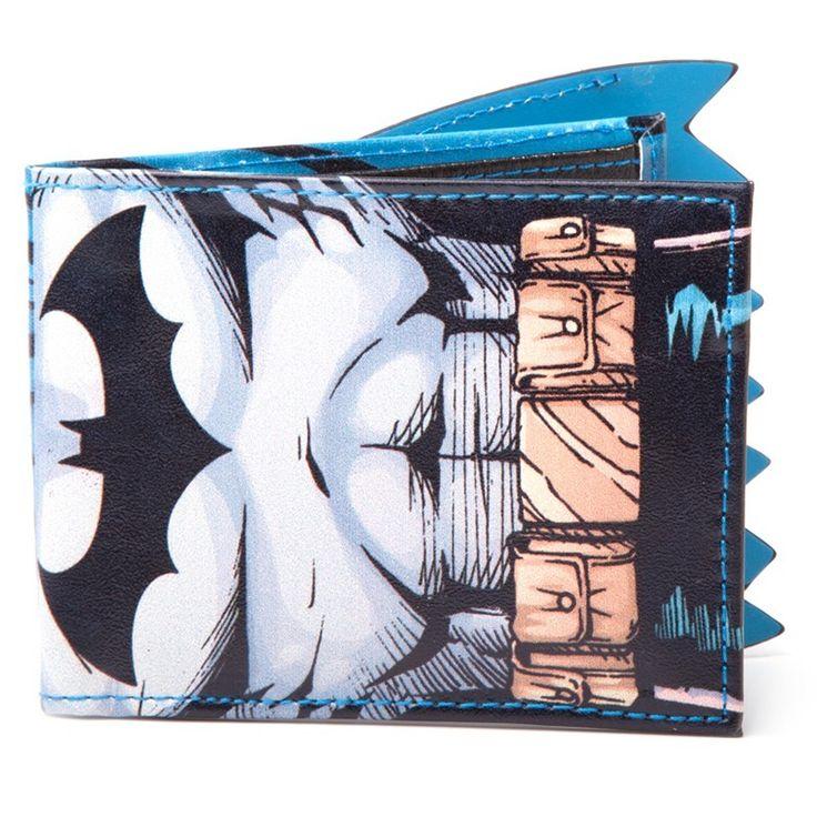 Portafoglio con mantello Batman