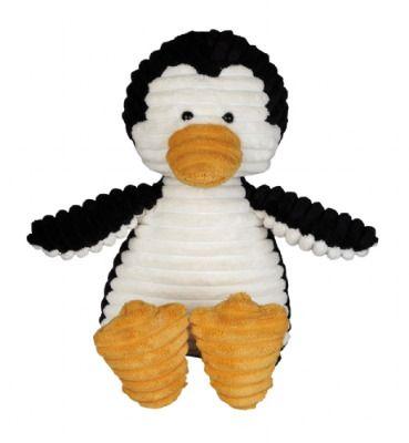 Cord Plush Penguin 35cm