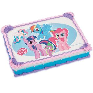 My Little Pony Edible Icing Cake Topper Party Supplies Canada & Halloween Supplies Canada - Open A Party