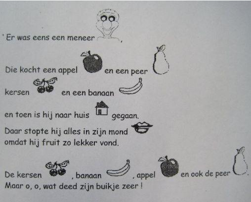 versje fruit