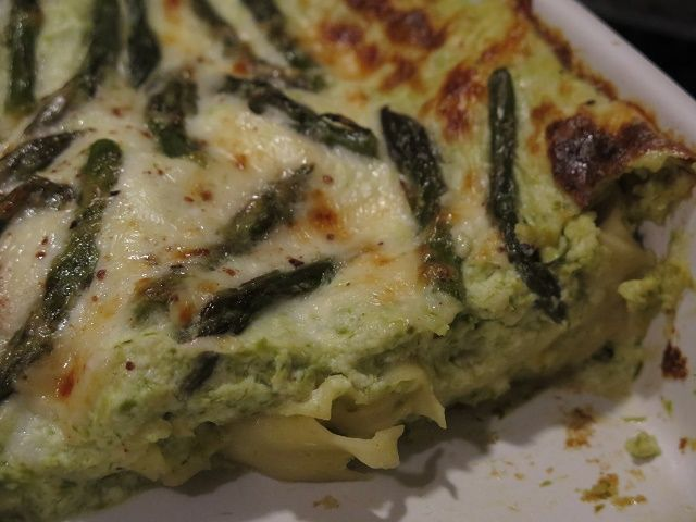 Lasagne+asparagi+e+ricotta