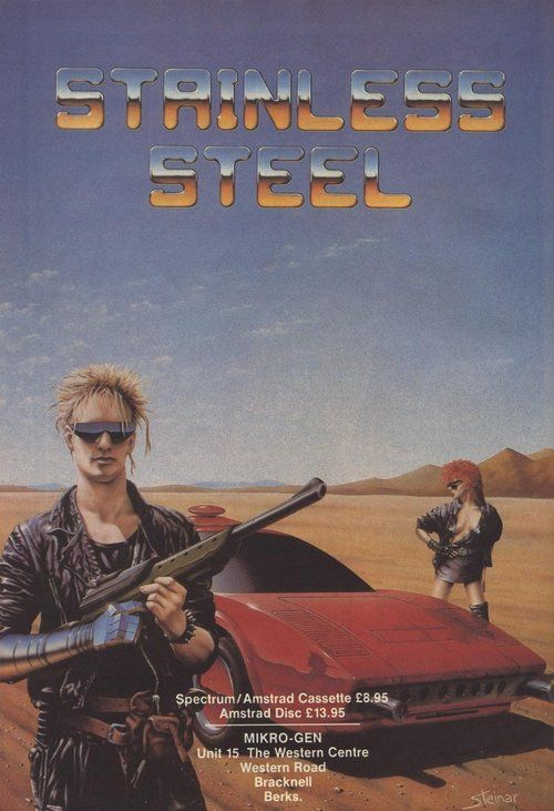 ZX Spectrum game Stainless Steel. Mikro-Gen, 1986