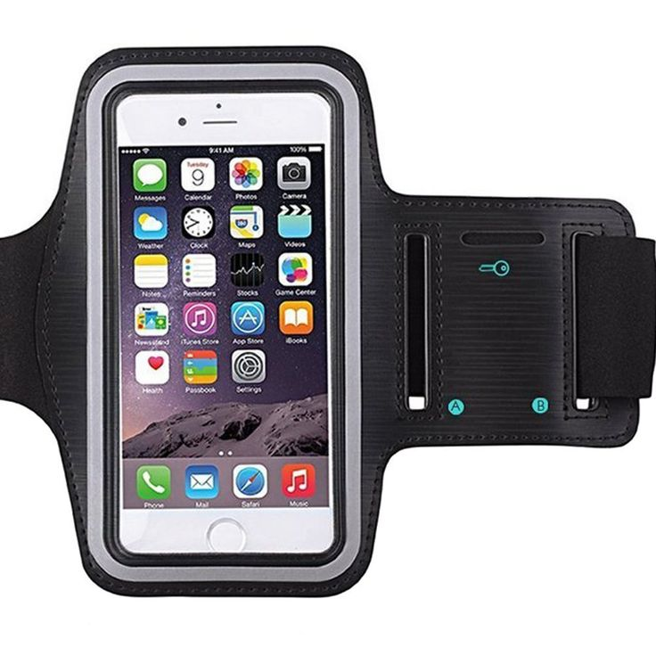 Amazon.com: [1 Pack]Premium Water Resistant Sports Armband with Key Holder for iPhone 7, 6, 6S (5.5-Inch), Galaxy s6,s7,S3/S4, iPhone 5/5C/5S, Bundle with Screen Protector Full Access to Touch Screen: Cell Phones & Accessories