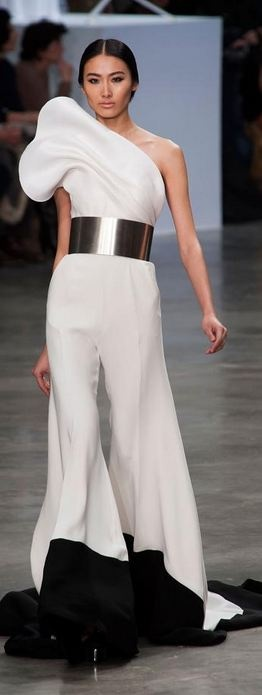 #Stephane #Rolland - Haute Couture Spring 2013. For when you want to look like a calla lily. jaglady