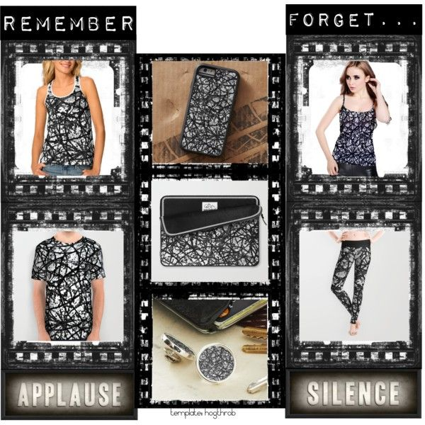 """Design """"Grunge Art Abstract"""" by medusa81 on Polyvore #digital #abstract #lines #doodle #scribble #scrawl #grunge #handmade #drawing  #background #informel #colors #blotch #expression #expressionism #artistic #warm #modern #acrylic #cases #radical #lapelpin #blackwhite #vintage #retro #leggings #shirt #alloverprint #tank #top #iphone6 #sleeve #laptop"""