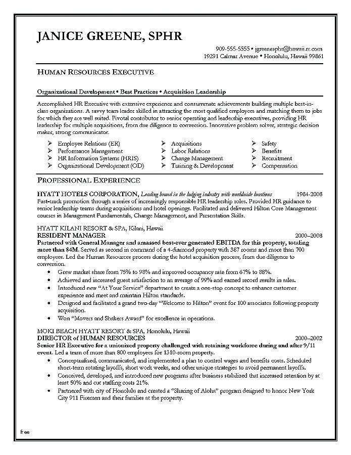 Sample Hr Resumes Hr Resume Sample Beautiful Resume Unique Effective Resume Templates Effective Resume Of H Human Resources Resume Job Resume Samples Hr Resume