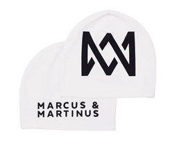 Hvit one size beanie Marcus & Martinus