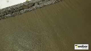 Gjut med grovbetong WeberSverige - YouTube