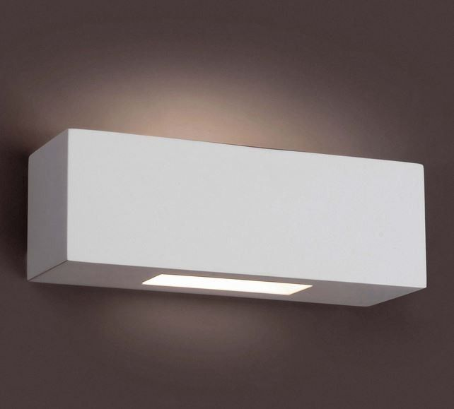 Aplique de pared Escayola  #lamparas #decoracion #iluminacion #aplique