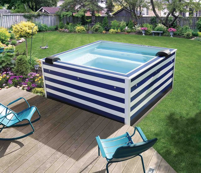 Best 25 liner piscine hors sol ideas on pinterest for Piscine semi enterree acier