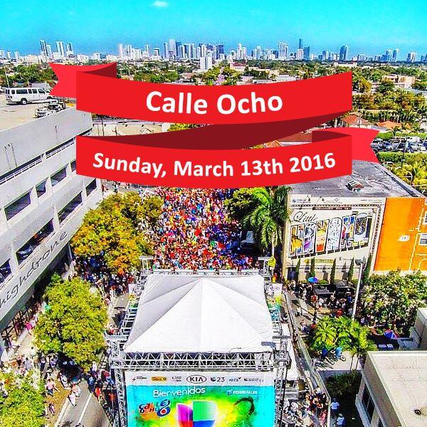Callajeros! Ya tenemos la fecha para el proximo festival de la Calle Ocho. Save the date for the next Calle Ocho! #streetfestival #calleocho #latinmusic  #carnaval #com #calleocho #carnavalonthemile #miami #cuba #kiwanis #kiwanisfoundation #hispanic #festival #music #food #people #florida #eighthstreet #2016