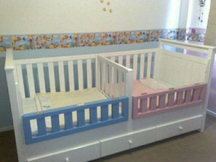 resultado de imagen para cama cunas para bebes gemelos