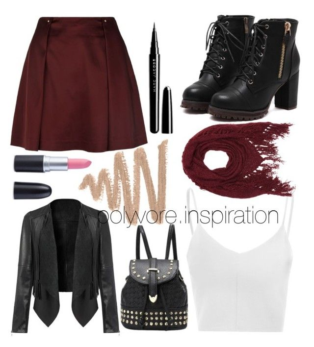 """""""Untitled #179"""" by loveemyself on Polyvore featuring Reiss, Glamorous, Marc Jacobs and Charlotte Russe"""