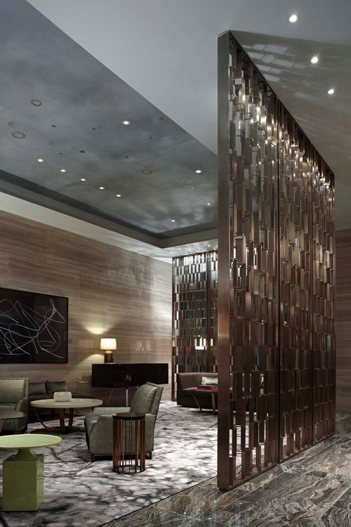 park hyatt new york yabu pushelberg screen pinterest
