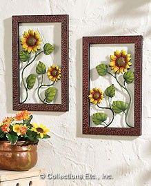 Framed Sunflower Wall Art Part 68