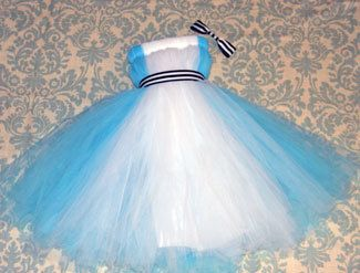 Adult Alice In Wonderland Halloween Tutu Dress 200 by SoStinknCute