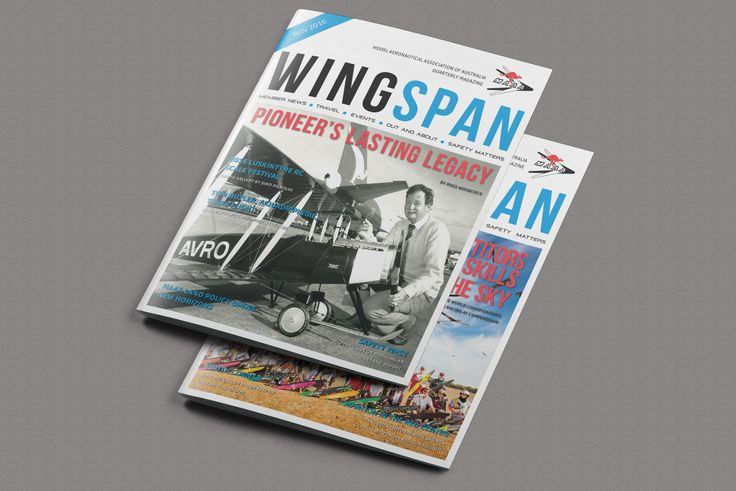 The latest edition of Wingspan magazine. I love producing magazines!