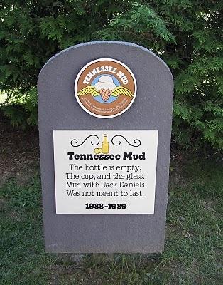 Ben & Jerrys Flavor Graveyard