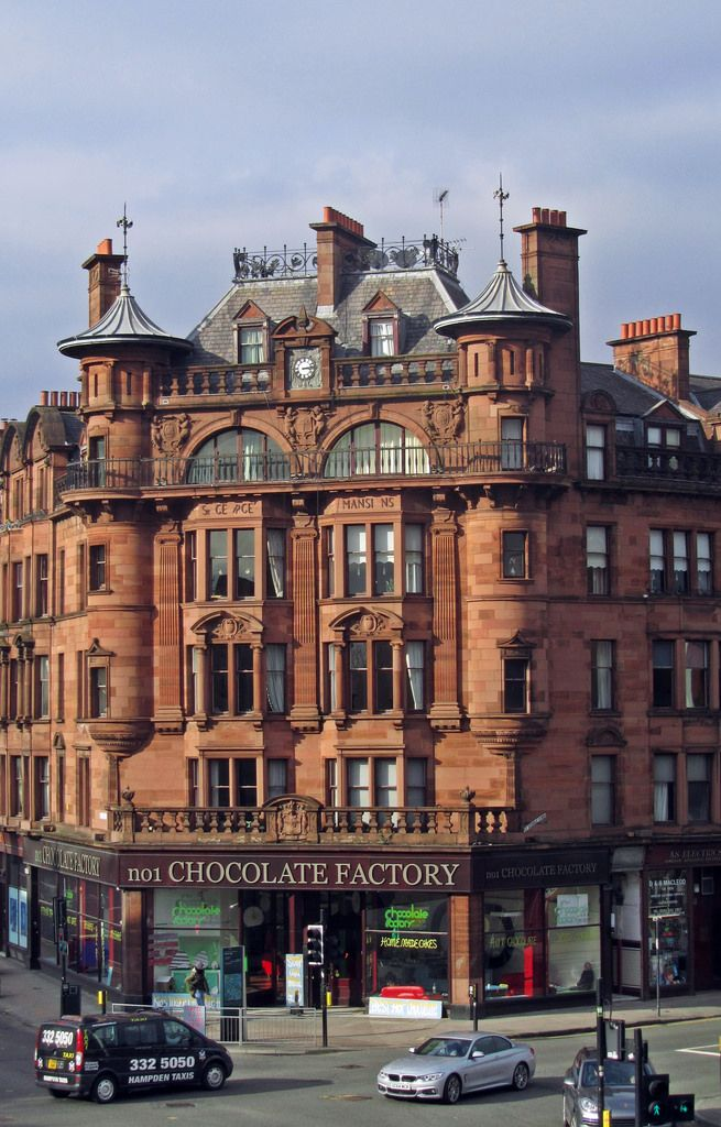 St. George's Mansions (1900) Glasgow Charing Cross